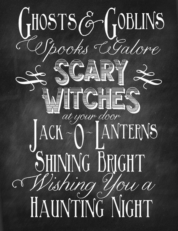 Captivating 25 Free Halloween Printables Home Remedies Rx.com Awesome Design