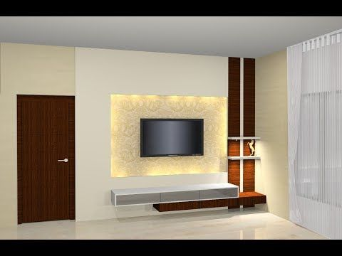 Amazing ways to design your TV Unit- Plan n Design - YouTube | yiyi ...