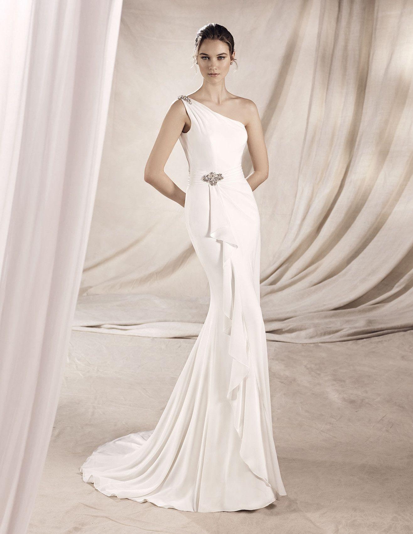 Yolima grecian style wedding gowns pinterest wedding dress la