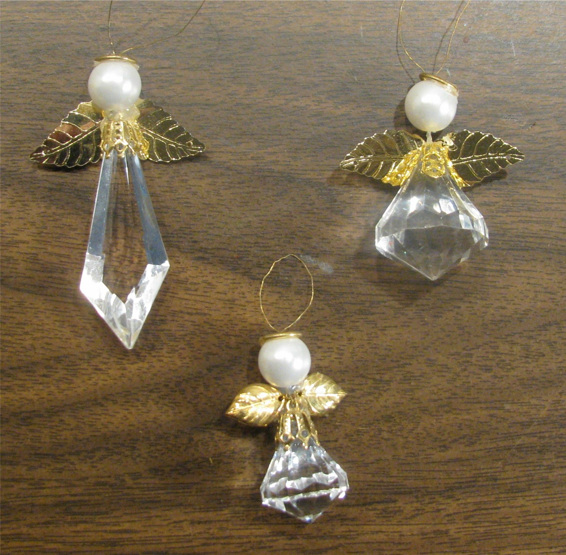 Crystal Bead Angels Mom Or Myself Beaded Angels Angel Ornaments Angel Crafts