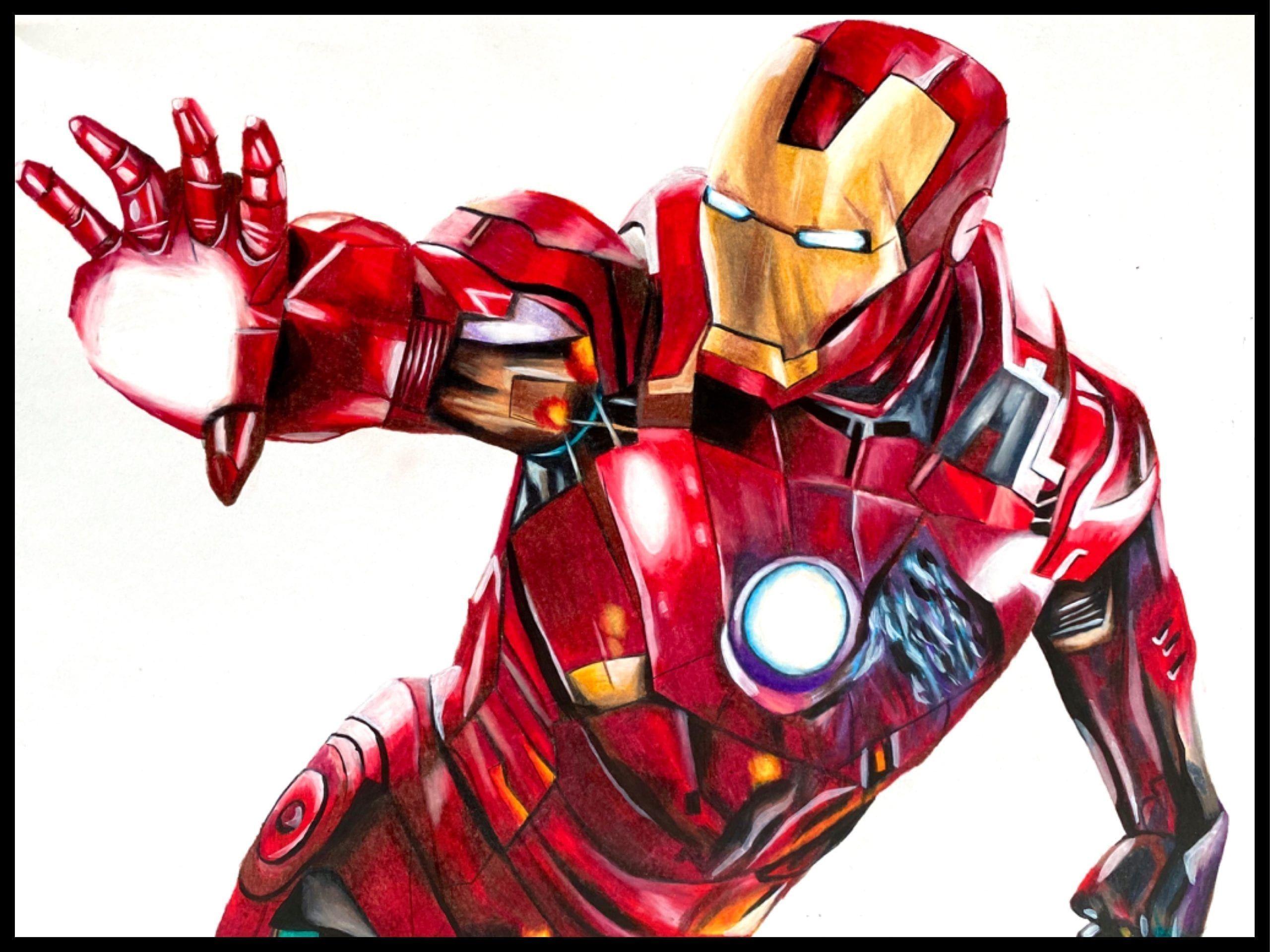 Iron Man Iron Man Drawing Iron Man Iron Man Symbol