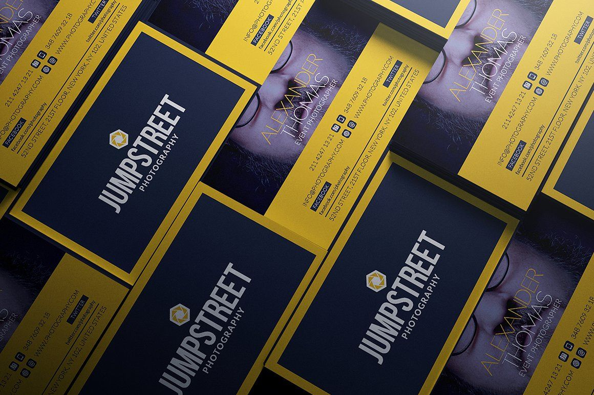 Unlimited Business Cards Bundle Photography Business Cards Business Cards Minimal Business Cards Simple