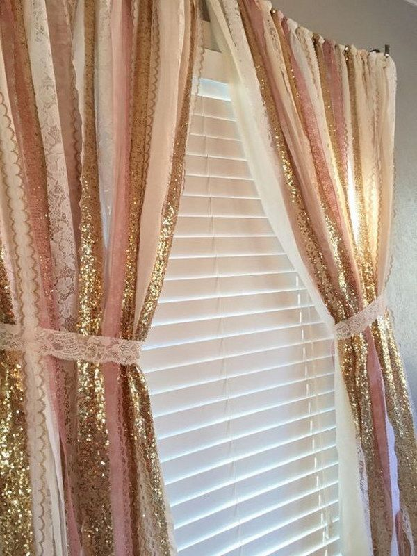 p and sheer curtains exquisite merge ivory gauze embroidery elegant curtain gold