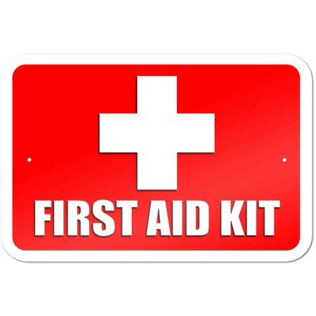 photo about First Aid Sign Printable identified as Initially Assistance Package Indicator Merchandise within 2019 To start with help, Very first guidance