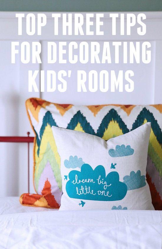 6th Street Design School | Kirsten Krason Interiors : Top Tips for Decorating Kids' Rooms & Studio 5
