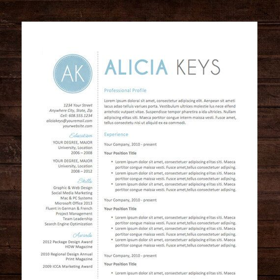 Resume Template  Cover Letter Thank You References  Unlimited