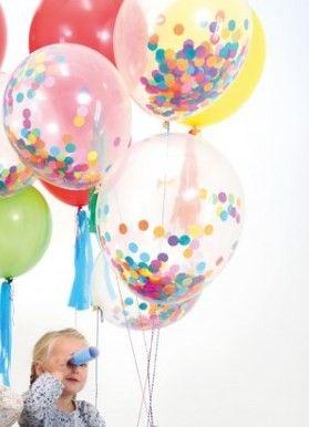 Meri Meri Toot Sweet Konfetti Luftballon Set Bonuspunkte Sammeln