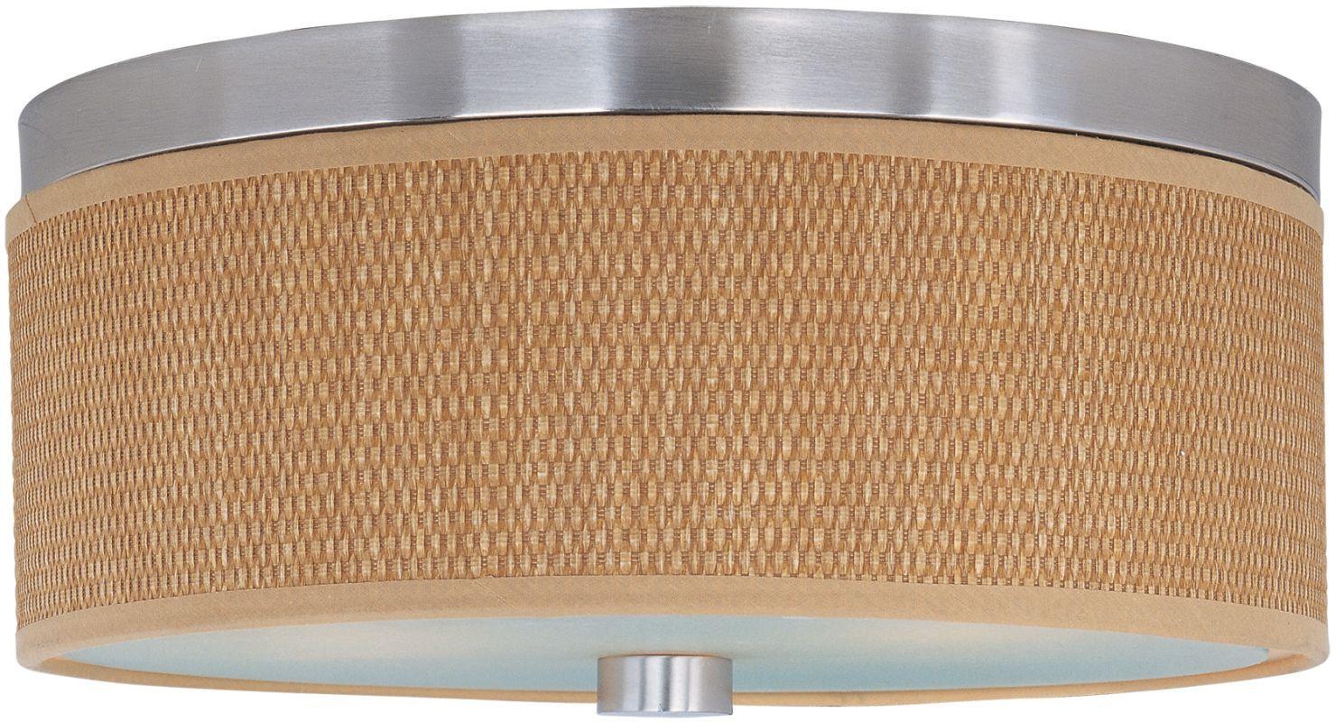 Et2 E95102 101 Elements 3 Bulb Flush Mount Indoor Ceiling Fixture Fabric Shade