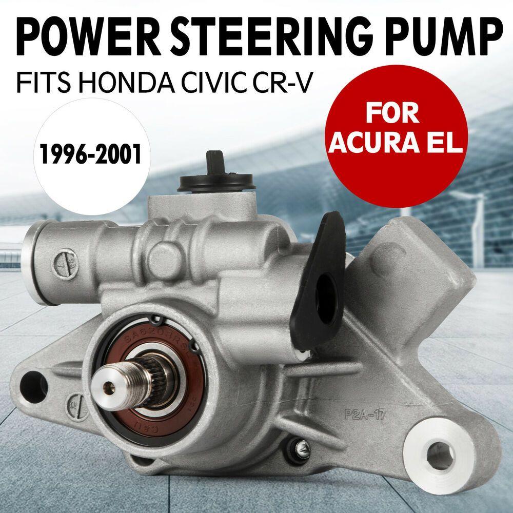 Ebay Sponsored Power Steering Pump For 1996 2001 Honda Civic Acura Cr V 1590cc 4 Door 1 6l Honda Civic Acura Coupe