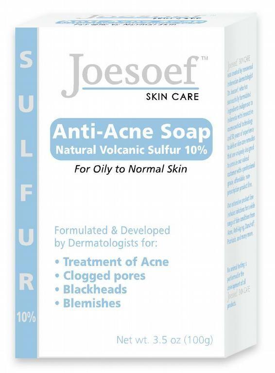 Joesoef Anti-Acne Sulfur Soap | Skin | Acne soap, Skin Care, Sulfur acne