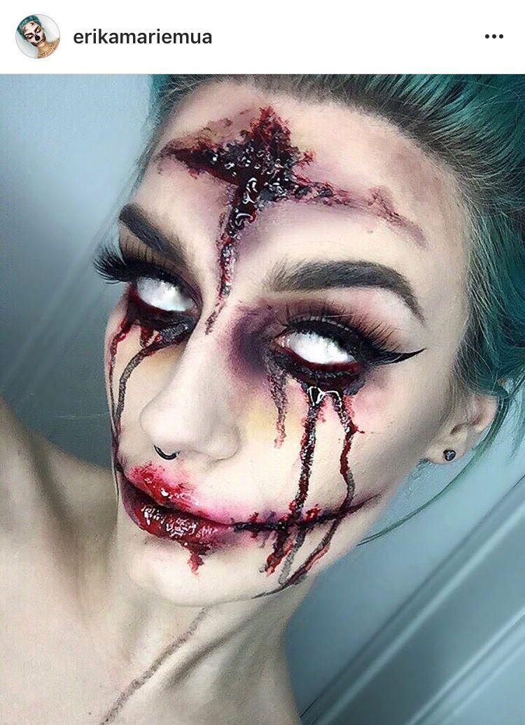 Halloween makeup ideas MAKE UP Pinterest Maquillaje, Fantasía
