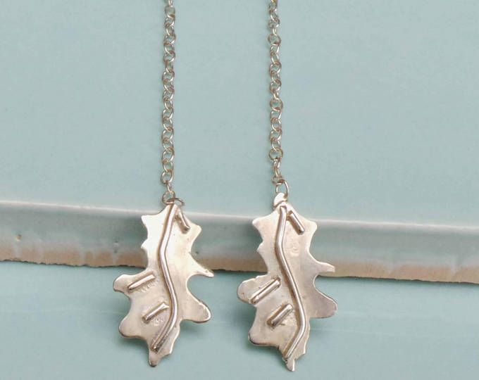 Sterling Silver Threader Earrings Delicate