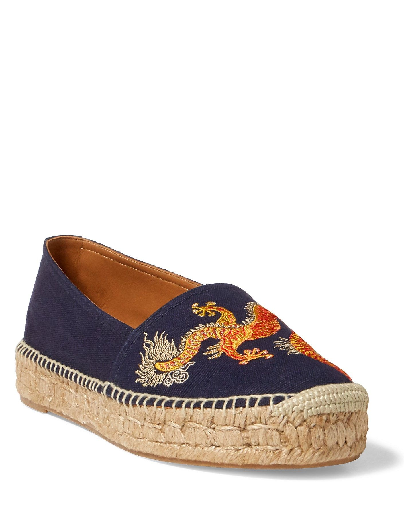 f838937d48e POLO RALPH LAUREN Joanne Embroidered Espadrille.  poloralphlauren  shoes   all