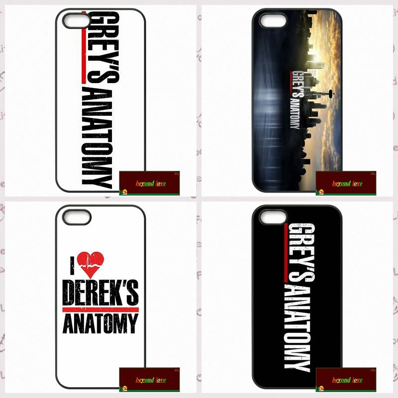 Vintage Grey\'s Anatomy Phone Cover case for iphone 4 4s 5 5s 5c 6 6s ...