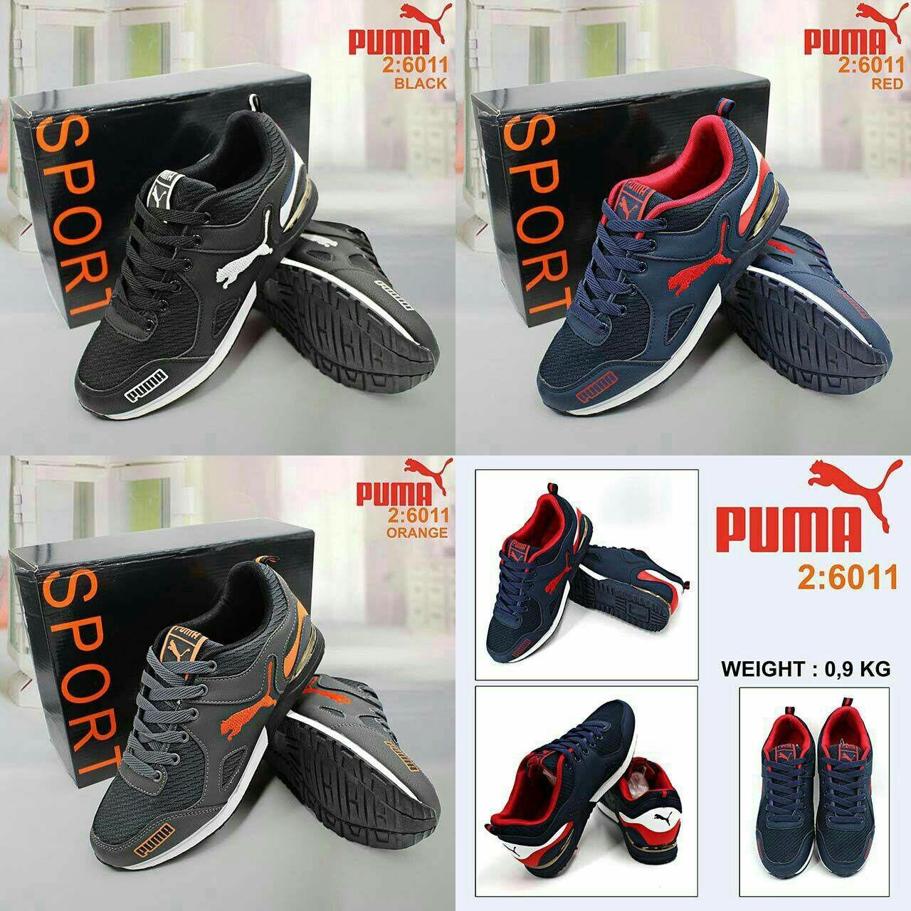 Sepatu Puma 6011 Semprem Insole 40 26cm 41 26 5cm 42 27cm 43 27