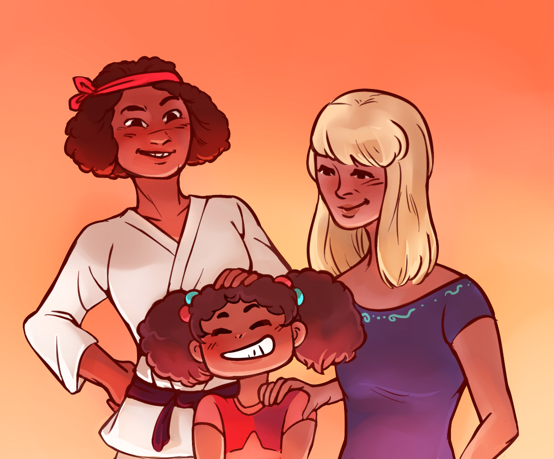 Humanized Ruby, Sapphire, and Garnet part 1