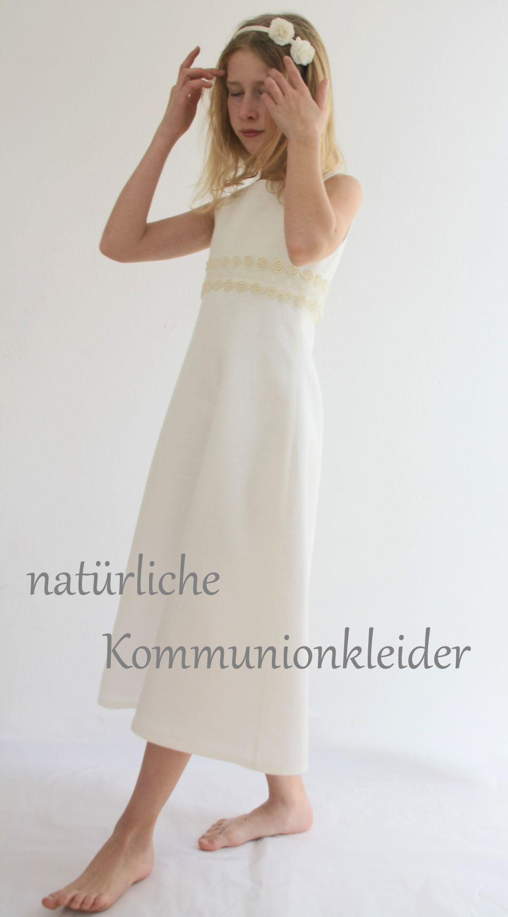 natürliche Kommunionkleider von ma-eins. Deutschlandweit versendet