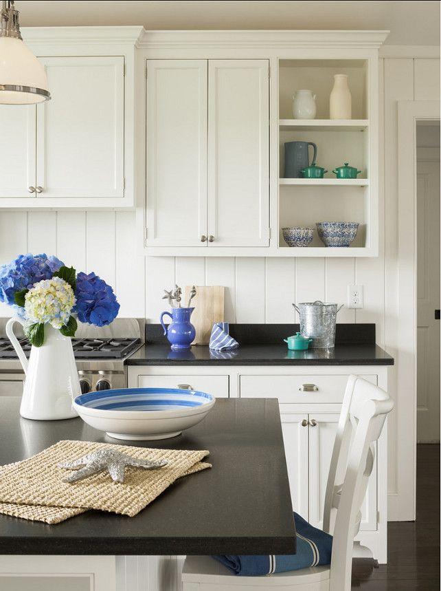 Kitchen Decor Ideas Kitchen With Blue White Decor Kitchen Kitchendecor Blue Wh White Kitchen Decor Blue Kitchen Decor Absolute Black Granite Countertops