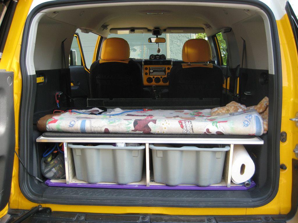 Yet Another Sleeping Platform Toyota Fj Cruiser