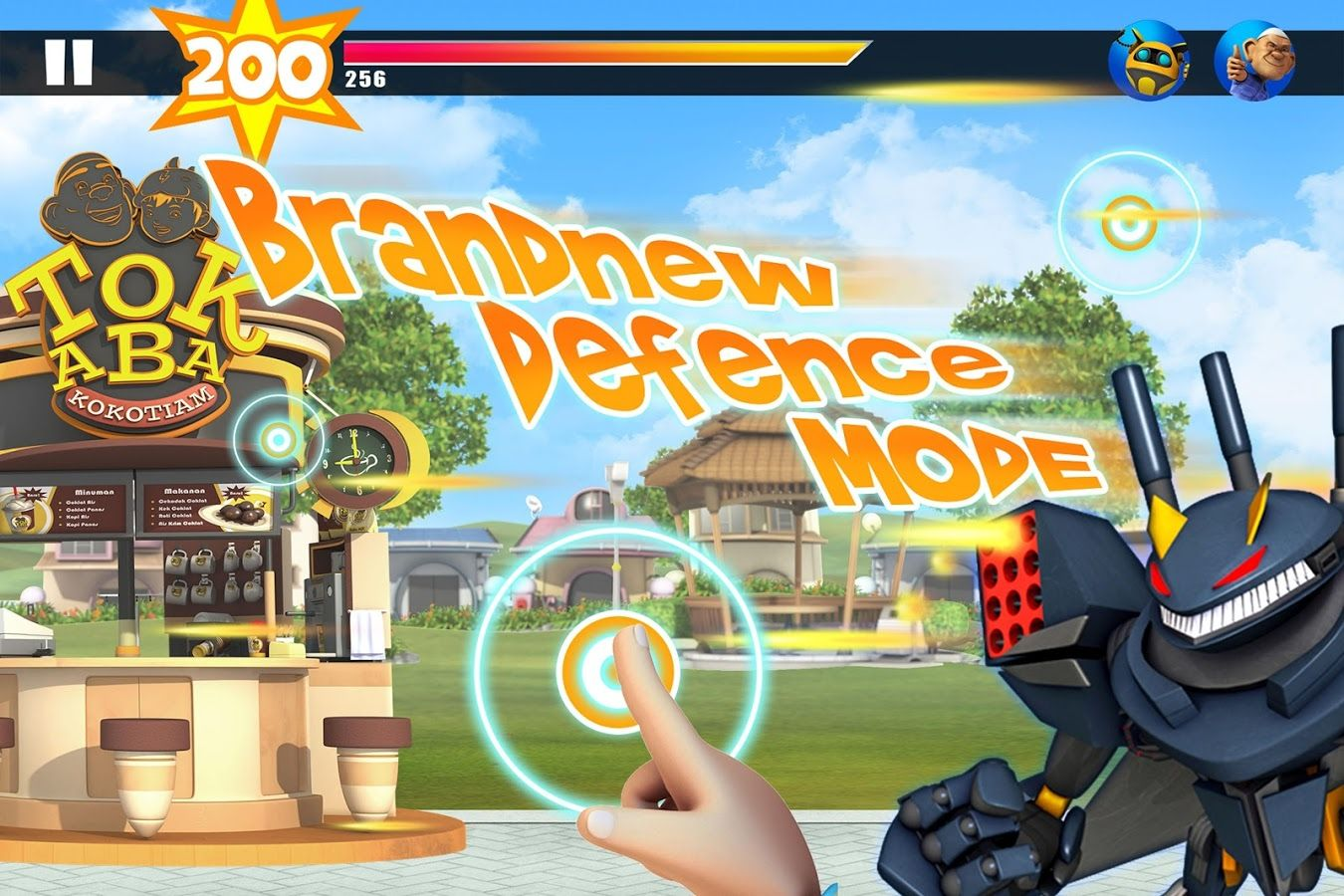 BoBoiBoy Ejojo Attacks screenshot