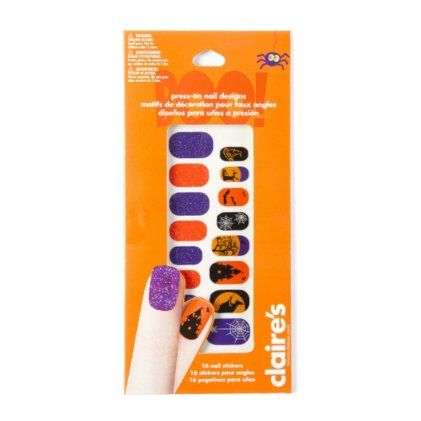 Halloween Press-On Nail Designs | Halloween press on nails ...