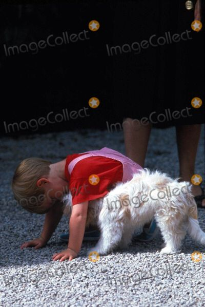 Cute little Prince Harry Mallorca, Spain