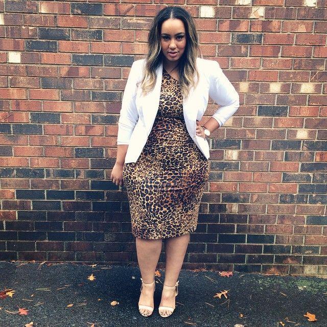 Plus Size Fashion - iambeauticurve's photo on Instagram