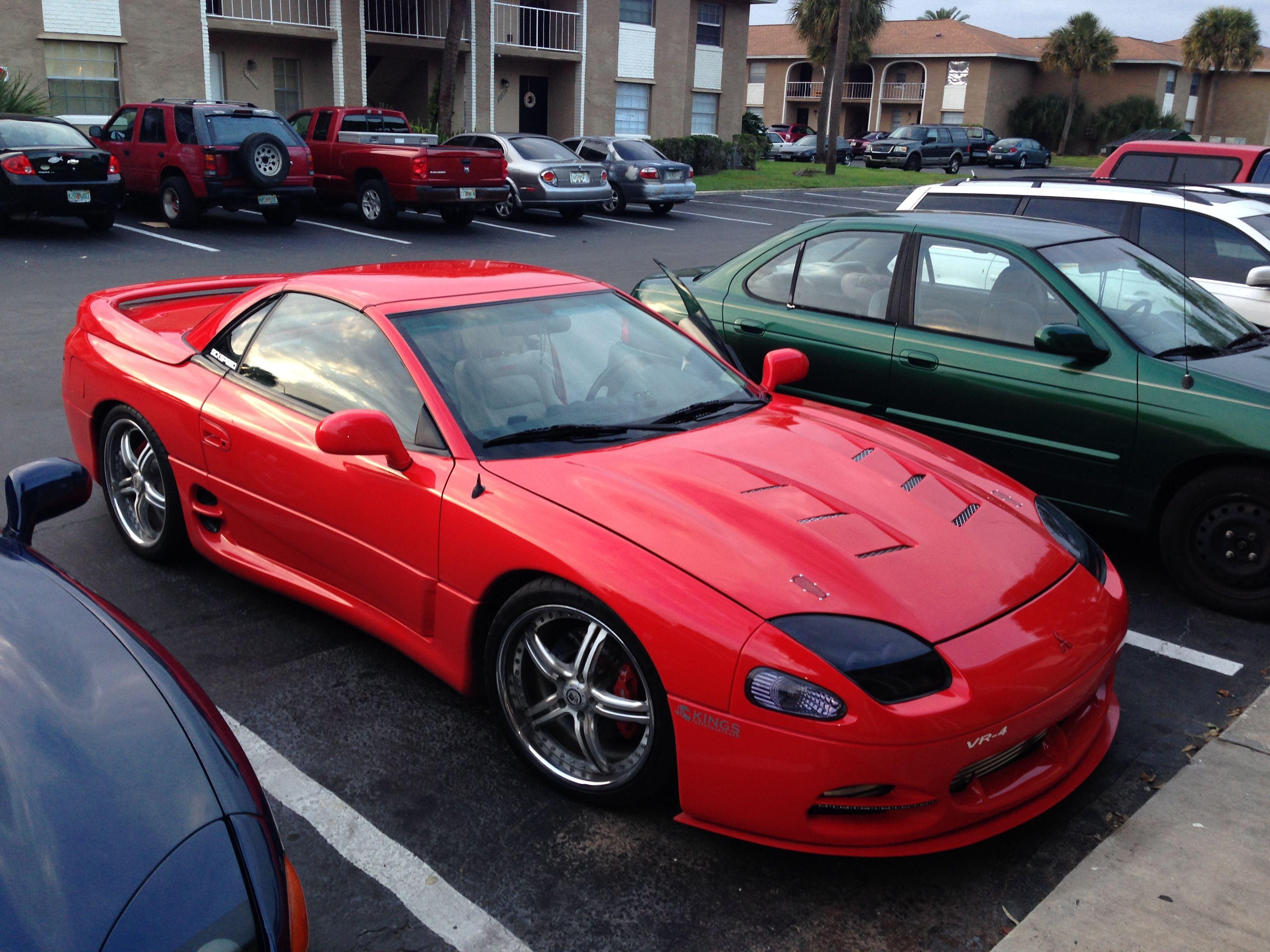 Redblood2 1999 Mitsubishi 3000gt With Images Mitsubishi 3000gt