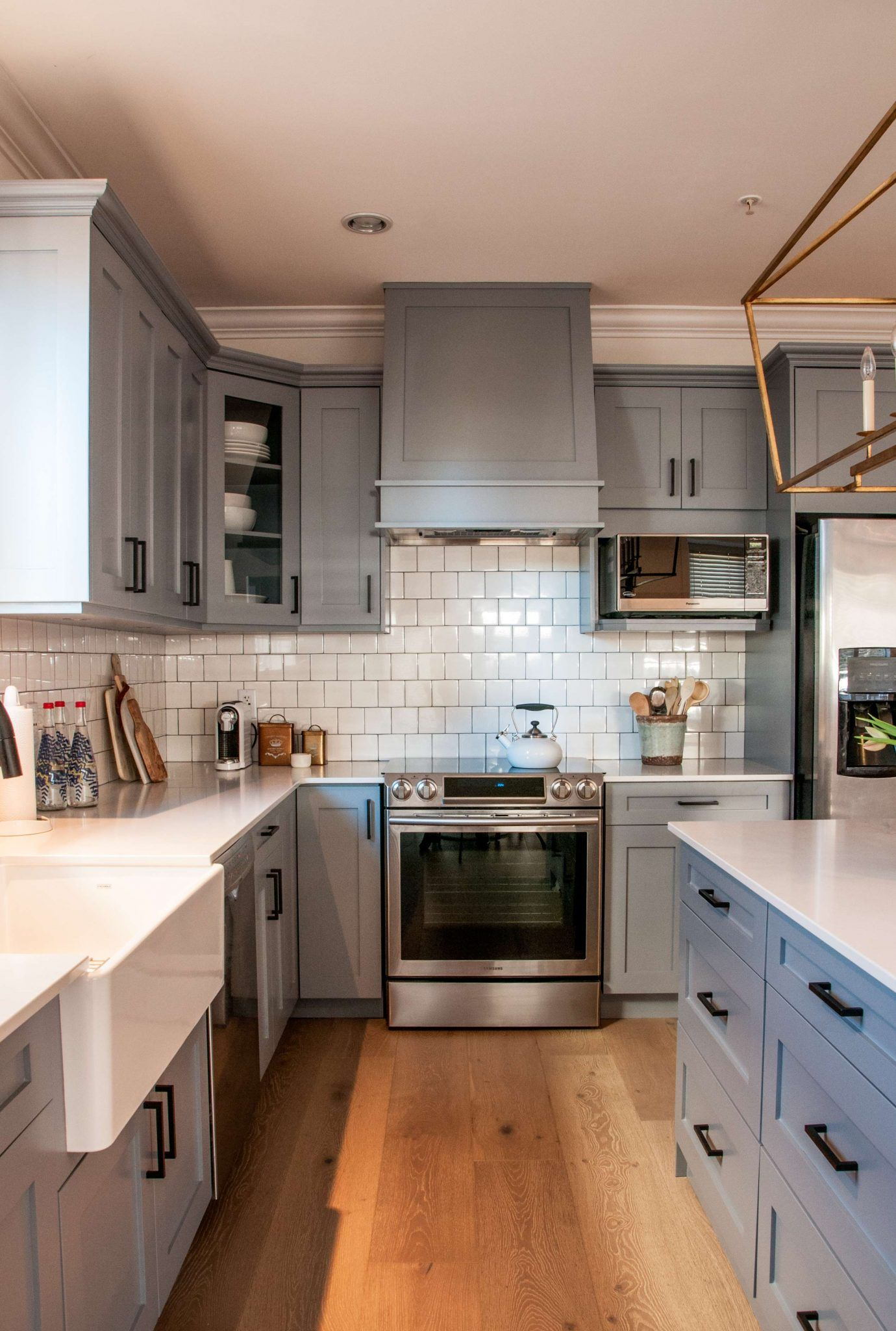 Are Grey Kitchen Cabinets Better Than White | Pinterest | Surrey FC ...