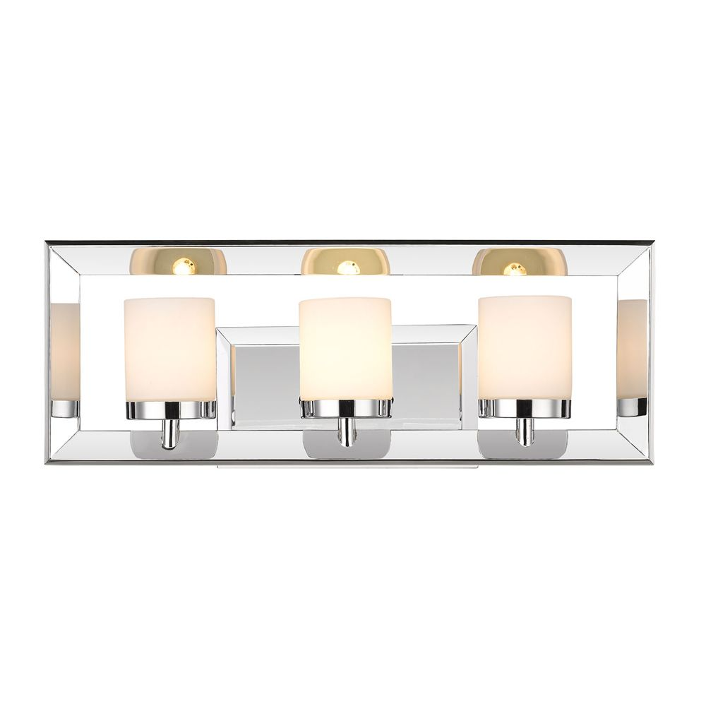 Golden Lighting's Smyth 3 Light Bath Vanity #2074-BA3 CH