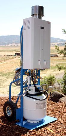 Decker S Hot Water Station Camping Shower Water Station Hot Water System