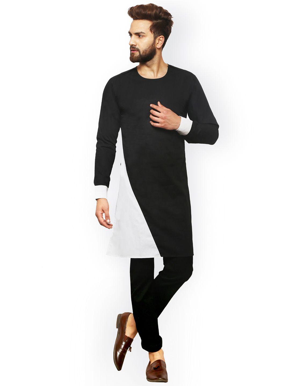 Party Wear Casual Men/'s Straight Kurta Cotton Dress Indian Kurta Pajama