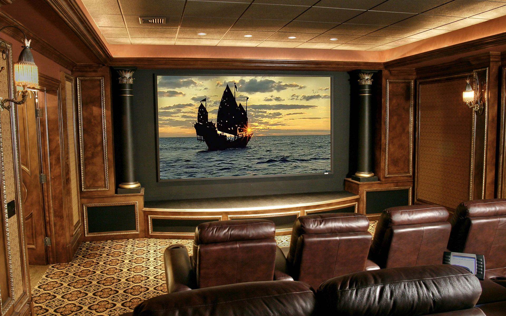 Amazing Luxury Home Theatre Design Ideas