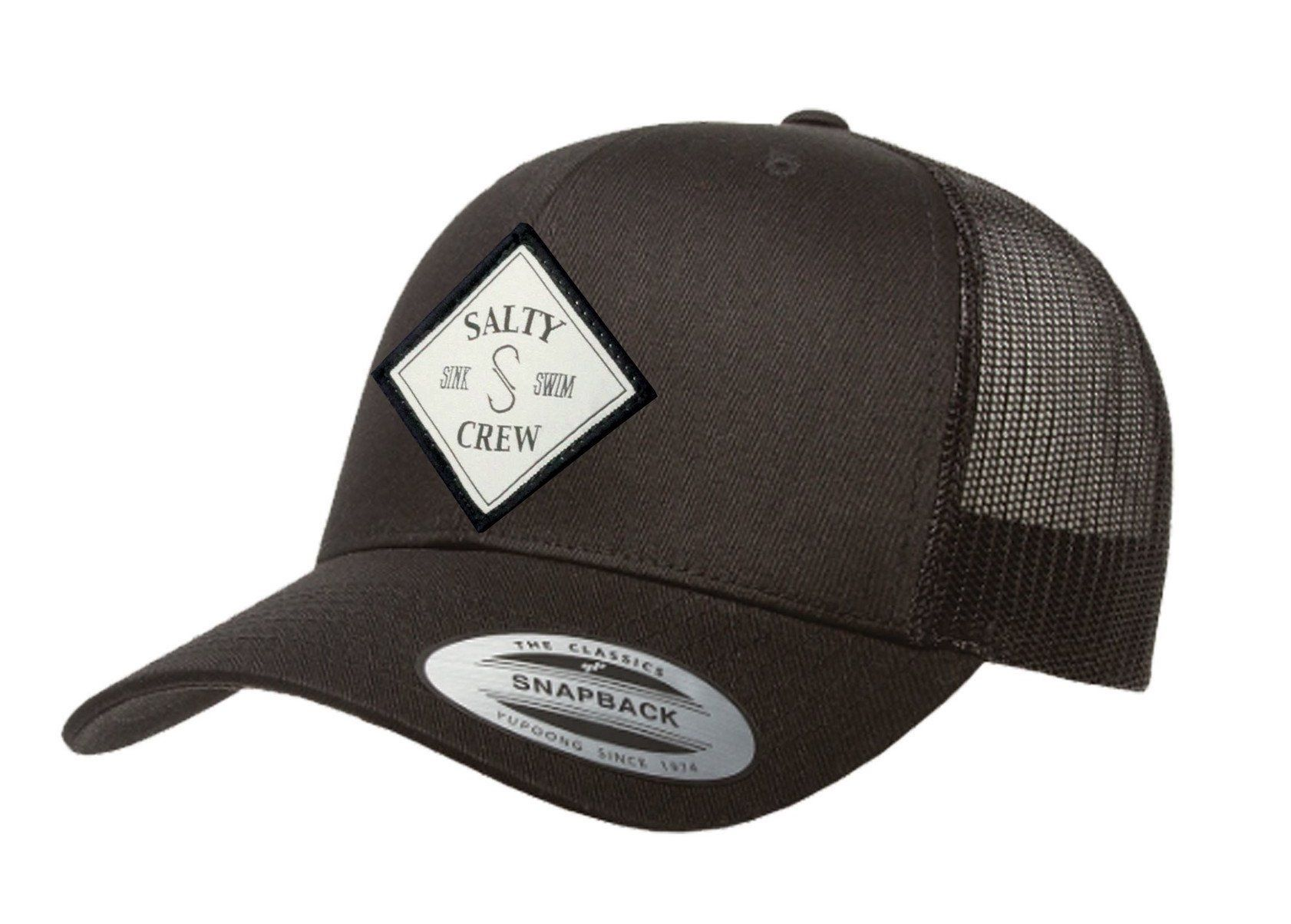 ca30674ddf1 Salty Crew Tippet Retro Trucker Black O S Men s Hat