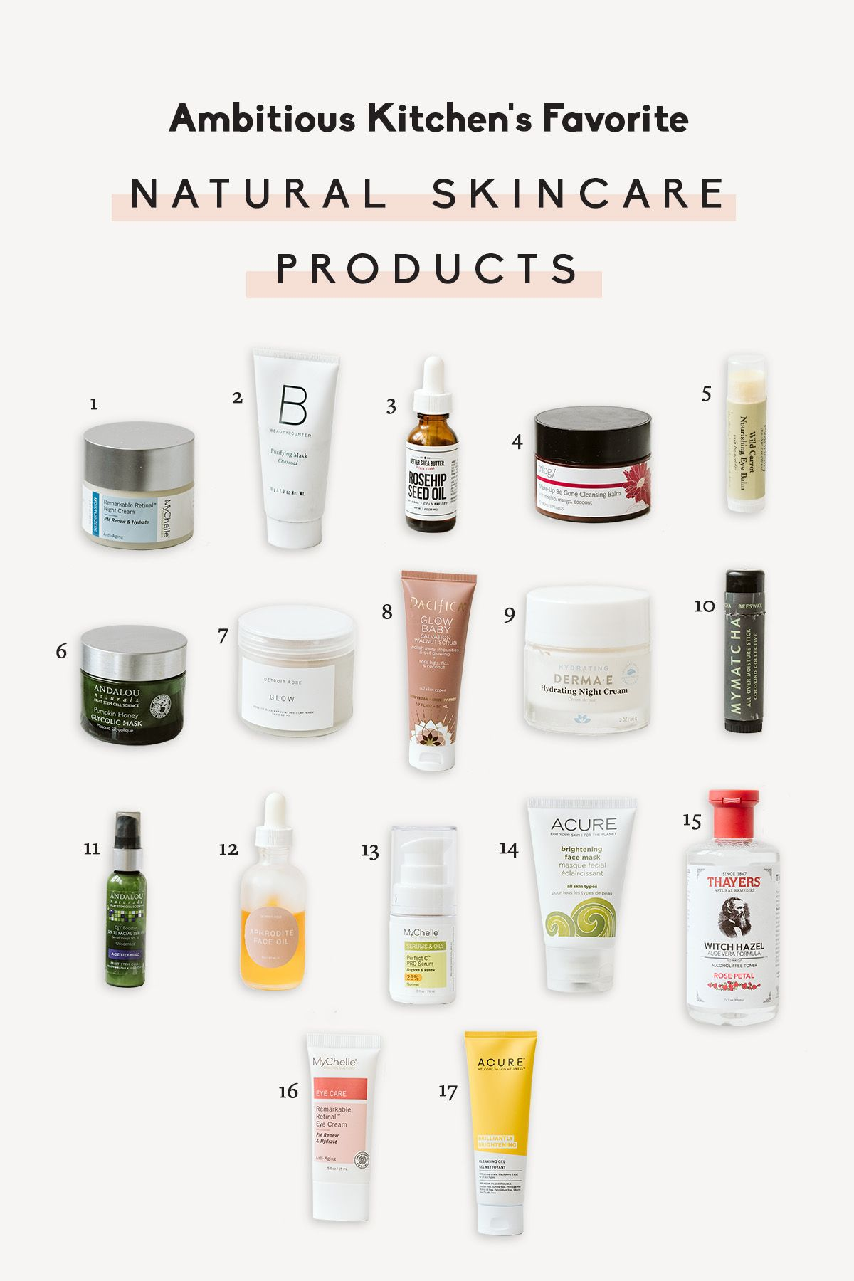17 Favorite Natural Skincare Products A Video Of My Morning