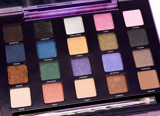 Urban Decay Vice 2 Eyeshadow Palette Review, Photos, Swatches