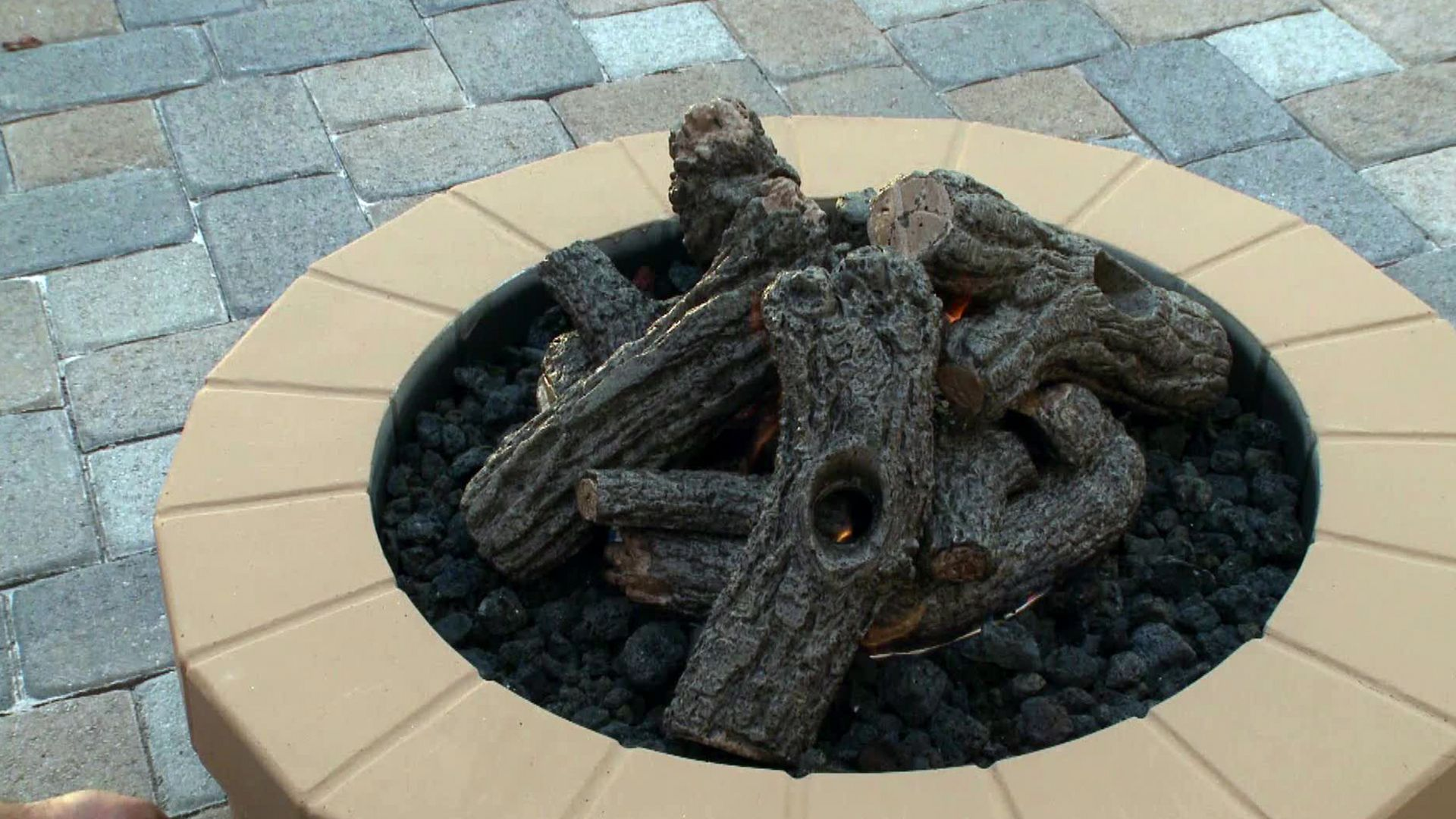 A gas or wood burning fire pit can quickly become the heart of a diy network shows you how to build a stone fire pit from start to finish solutioingenieria Image collections