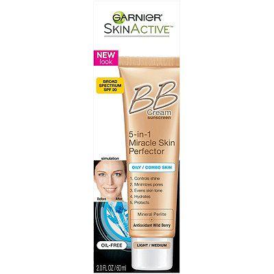 Garnier Skinactive Miracle Skin Perfector Bb Cream Oily Combo Skin