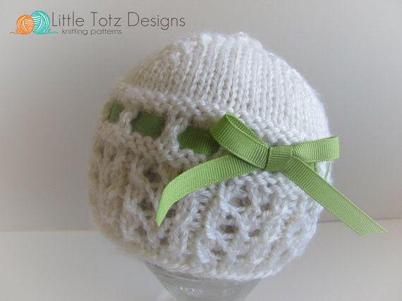 The Charlotte Cloche Knitting Pattern Newborn