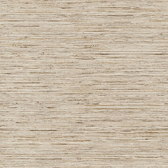 Roommates Grasscloth Brown Peel And Stick Wallpaper Amazon Com Grasscloth Wallpaper Grasscloth Peel And Stick Wallpaper