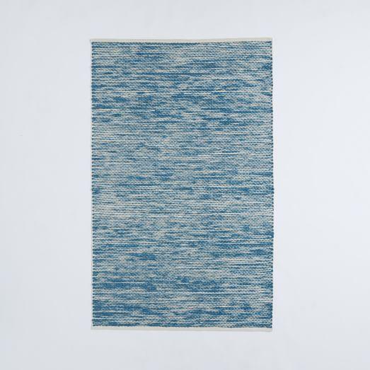 Painter S Cotton Wool Rug Aquamarine Modern Wool Rugs Rugs Area Rugs For Sale