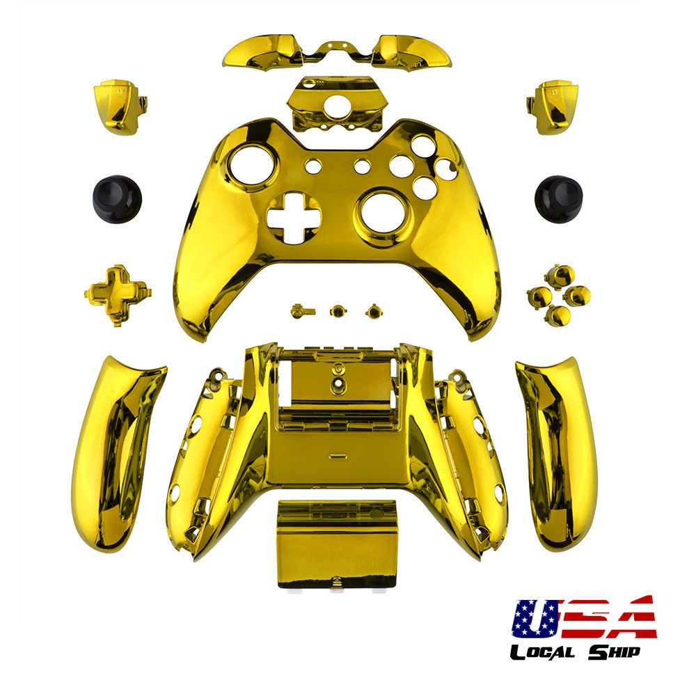 $11 99 - Limited Edition Gold Shell Buttons Kit For Xbox One
