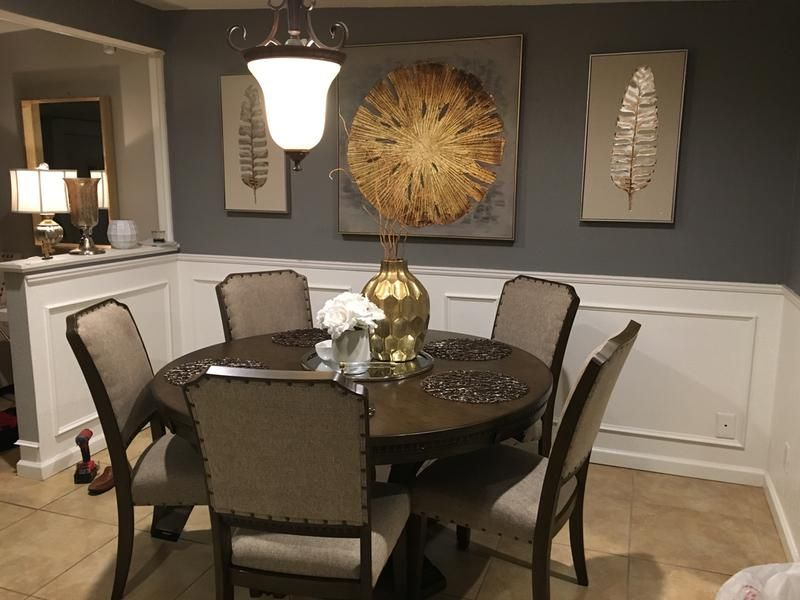 Review Photo 2 Round Dining Room Round Dining Room Table Dining Room Table