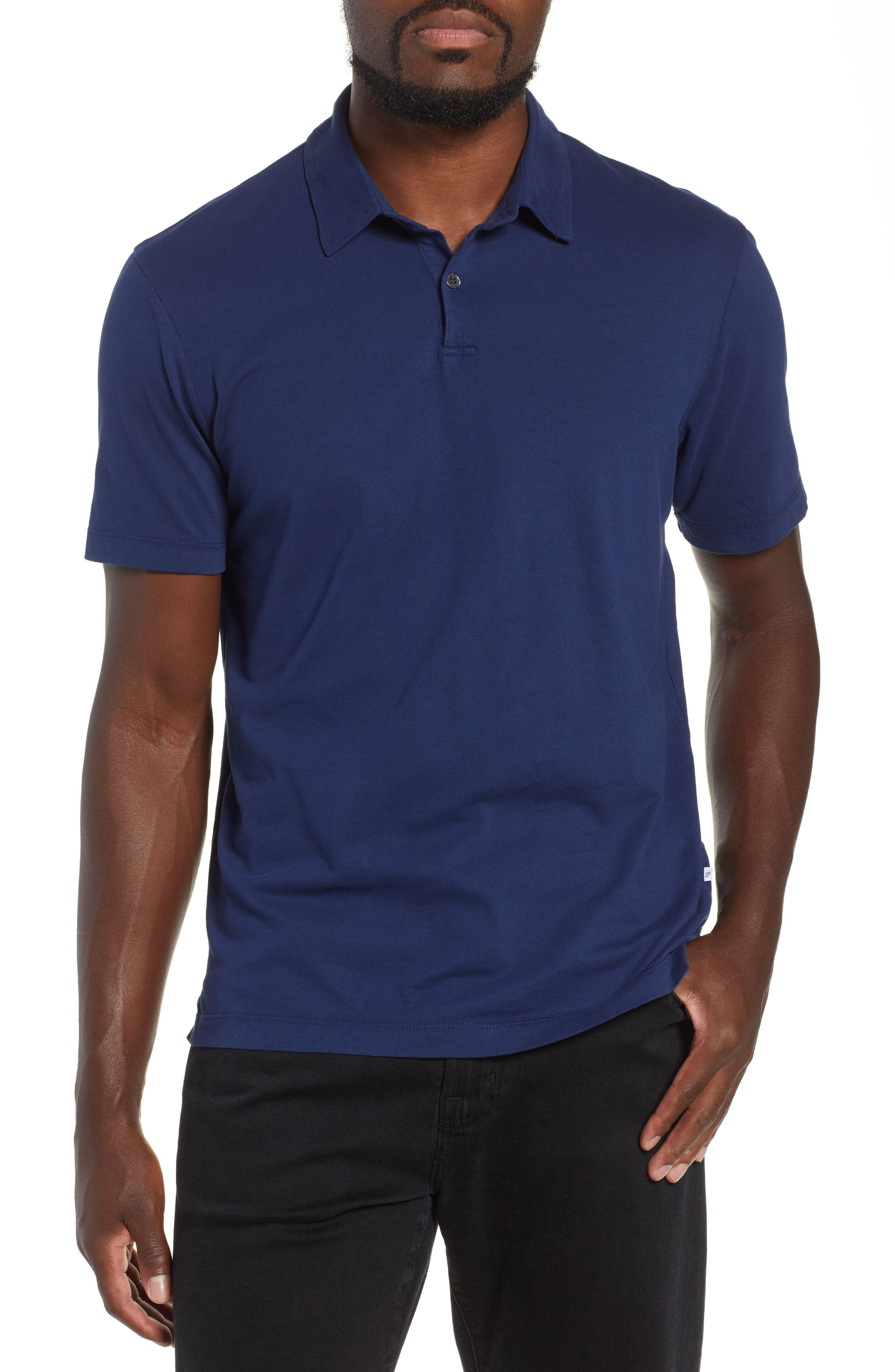 c0e614b1e35 JAMES PERSE SLIM FIT SUEDED JERSEY POLO. #jamesperse #cloth | James ...