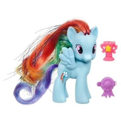My Little Pony Rainbow Dash Figure With Images Rainbow Dash