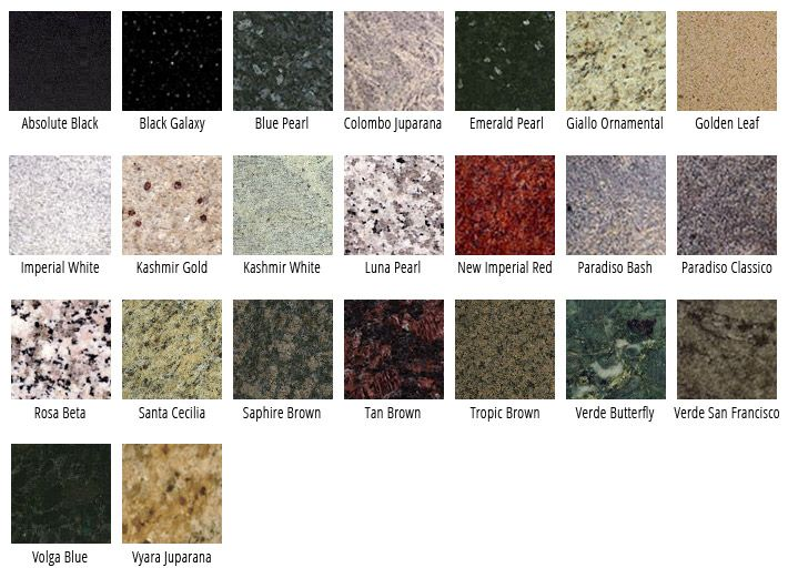 DeSpirt Can Customize Granite Into Beautiful Kitchen And Bathroom  Countertops.