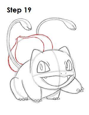 Pokemon Bulbasaur 19 Bulbasaur Pokemon Cartoon Drawing