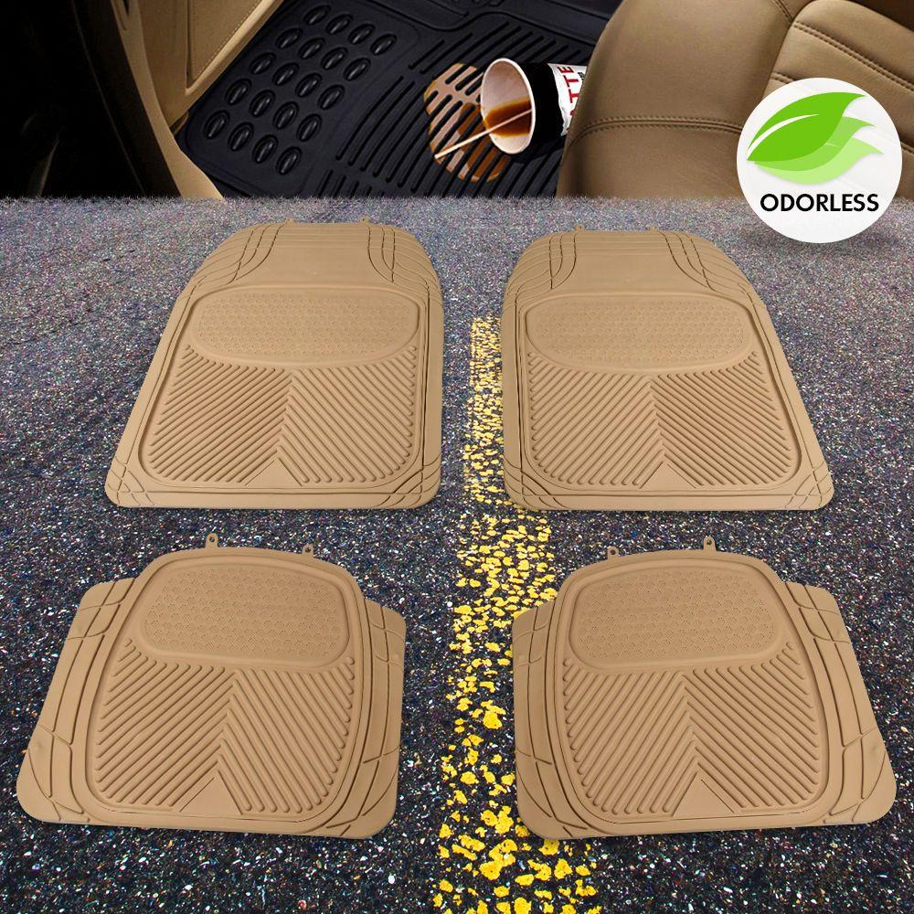 Us 4pcs Car Truck Suv Van Custom Pvc Rubber Floor Mats Carpet