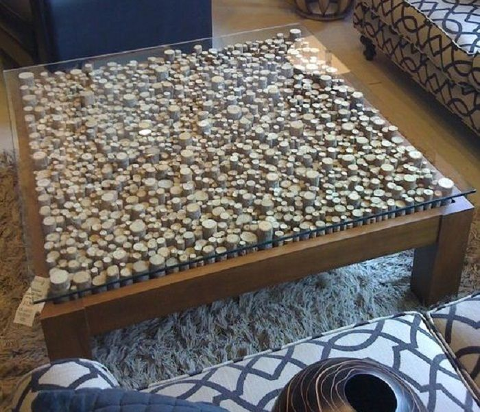 Wine Cork Table Design: Wine Cork Table, Coffee Table Upcycle, Cork Table
