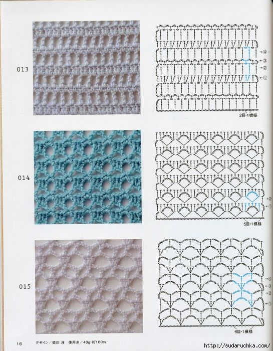Crochet pattern (18) (545x700, 368Kb) | Puntos | Pinterest ...